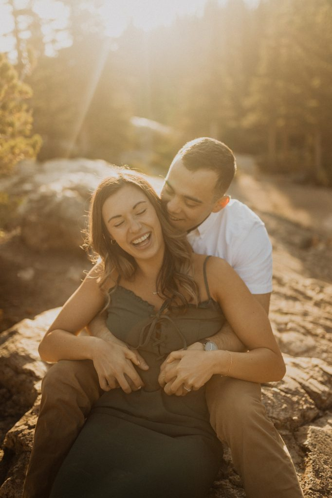 Beautiful Engagement Session in Rocky Mountain National Park