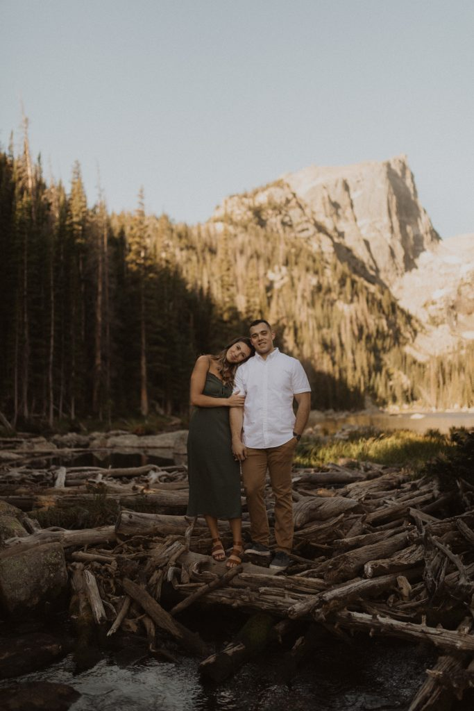 Engagement Photography in Rocky Mountain National Park