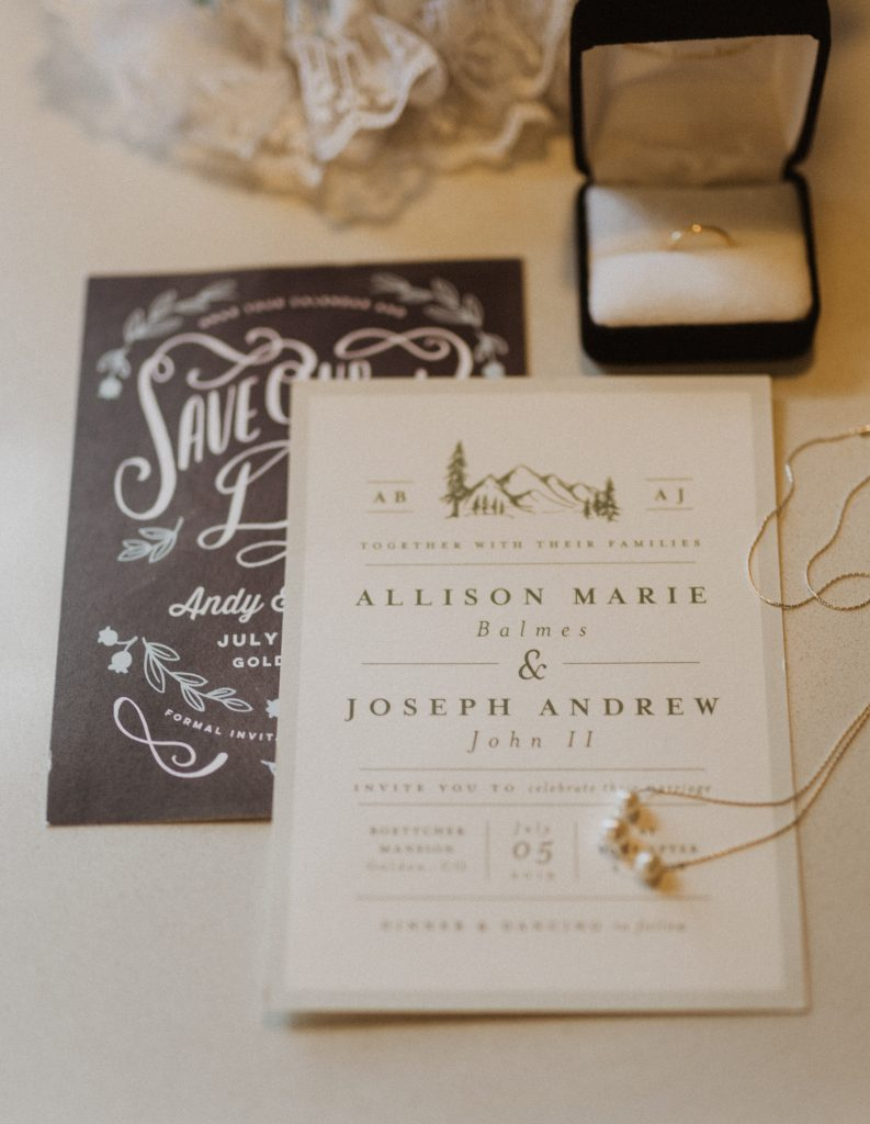 Lookout Mountain wedding in Colorado