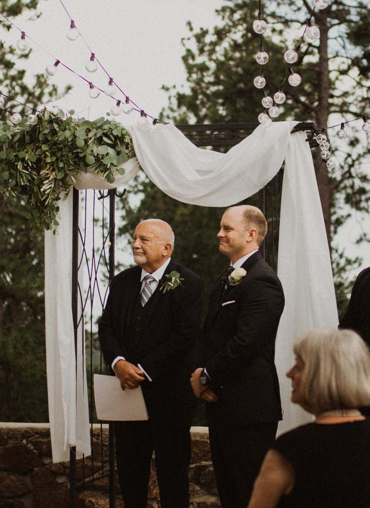 Beautiful Wedding ceremony at Boettcher Mansion in Colorado