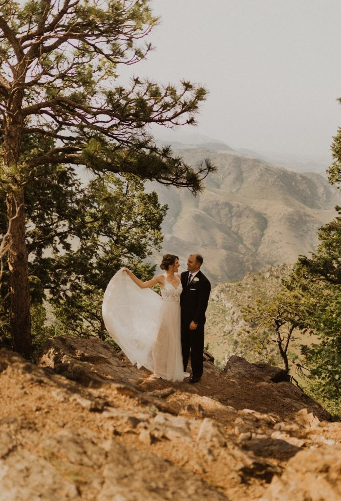 Lookout Mountain wedding photography in Colorado