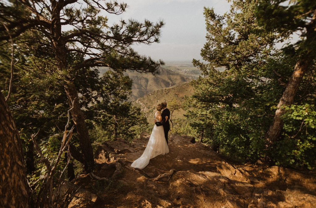 Epic mountain wedding in Colorado