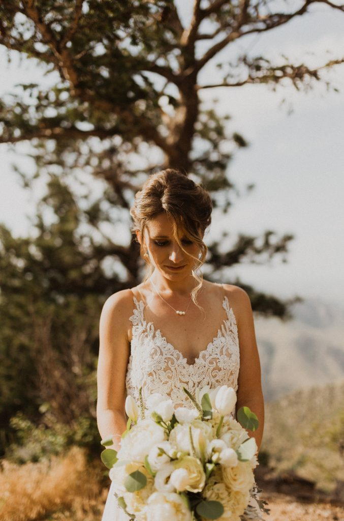 Colorado mountain bridal photography