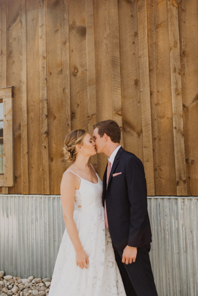 Rustic wedding in Granby, Colorado