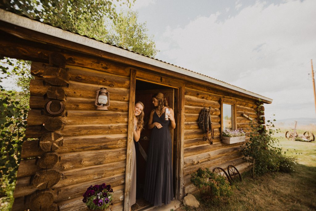 Bridesmaids at Strawberry Creek Ranch