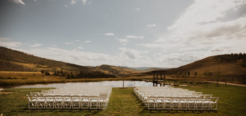 Strawberry Creek Ranch wedding in the mountains