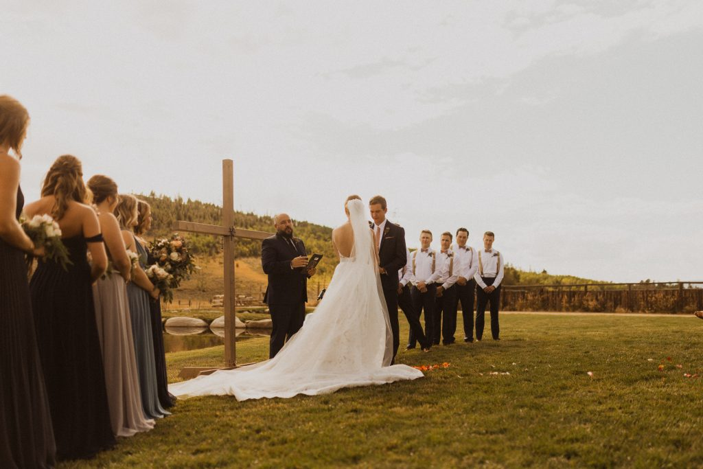 Adventure mountain wedding in Colorado