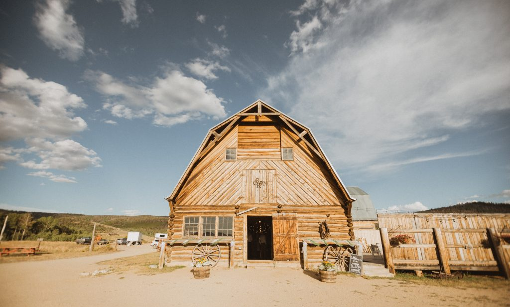 Strawberry Creek Ranch wedding venue in Granby, Colorado